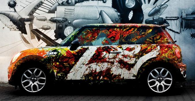 тюнинг окраски автомобиля