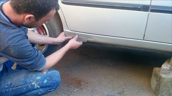 Как отремонтировать пороги авто самостоятельно