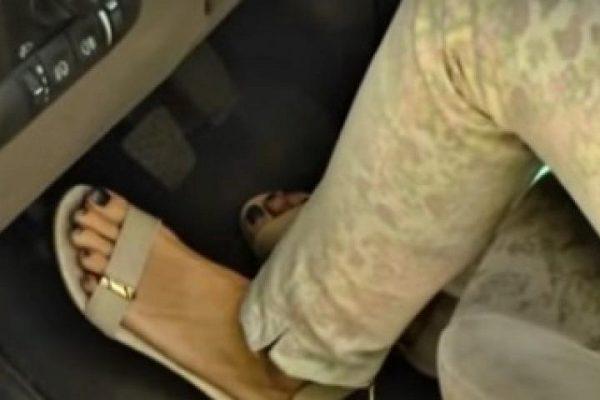 Эксперты объяснили, почему кроссовки – плохая обувь для водителя