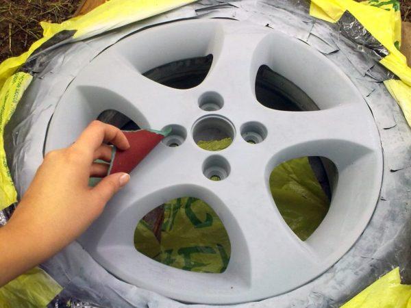 Как покрасить диски на авто своими руками: пошаговая инструкция