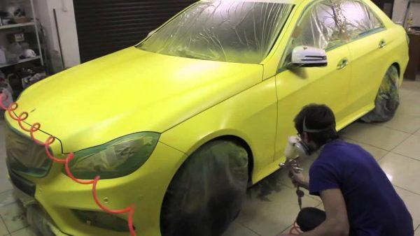 Регистрация изменения цвета автомобиля в ГИБДД