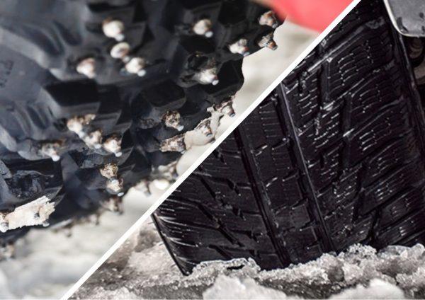 Сравним и узнаем, какая резина лучше – шипованная или липучка