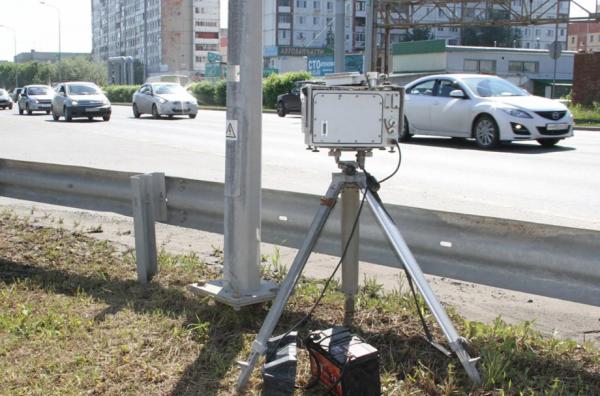 Треноги на дорогах заменят новые мобильные камеры