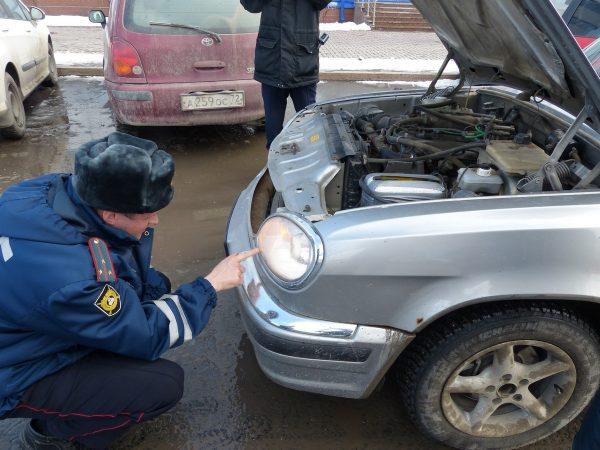 За какие неисправности автомобиля легко получить штраф