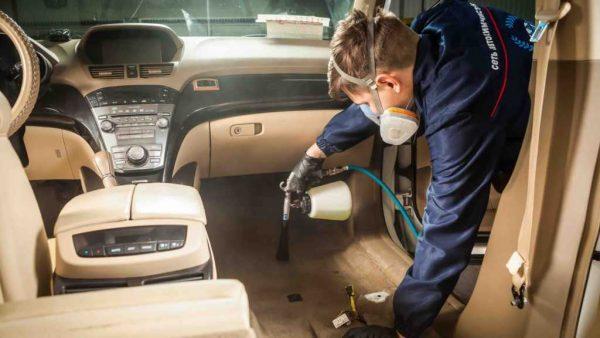 Пошаговая инструкция дезинфекции авто от коронавируса: перечень средств