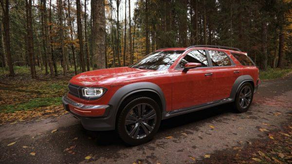 Впечатляющее возрождение автомобиля Волга